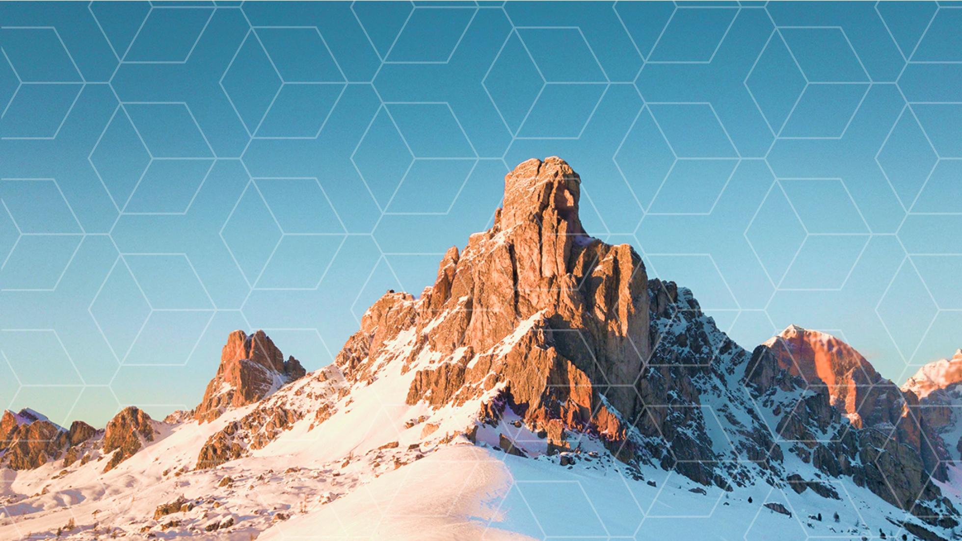 hexagon mountains